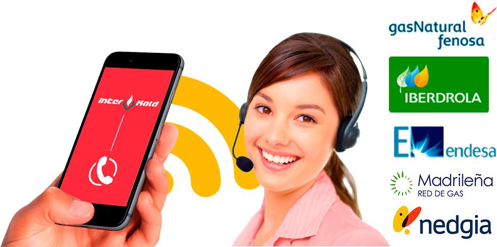 atencion telefonica servicio técnico reparación de fugas de gas natural fenosa, iberdrola, madrileña red de gas, nedgia y endesa en Móstoles