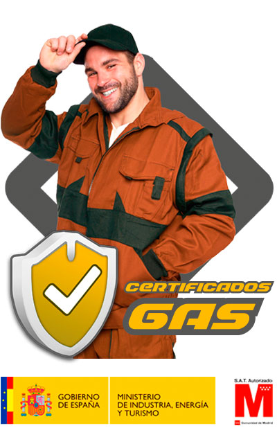 certificado de gas natural en Móstoles