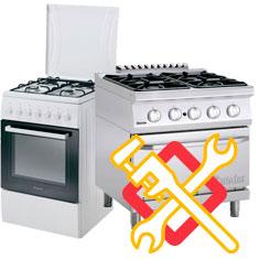 Servicio técnico de reparación urgente de cocinas de gas en móstoles