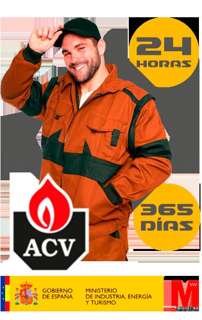 Experto reparación de calderas ACV en Móstoles