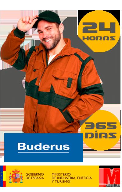 Experto reparación de calderas Buderus en Móstoles