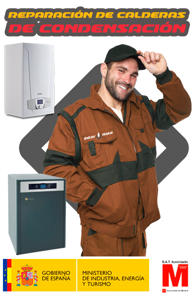 Reparación caldera condensación en Móstoles
